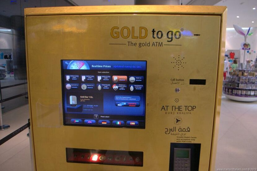 Автомат Gold To Go