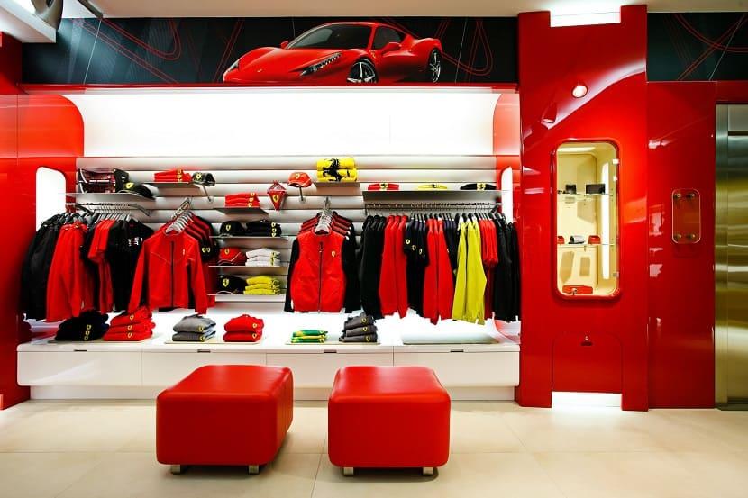 Магазин Ferrari