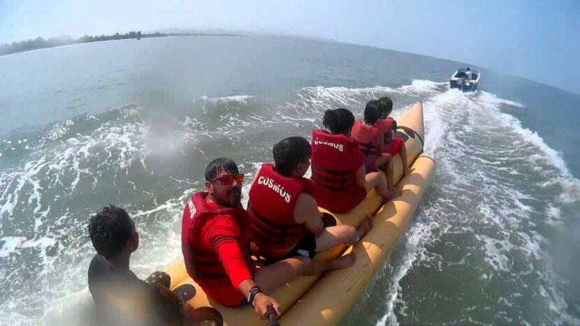 Водные виды спорта на пляже Палолем