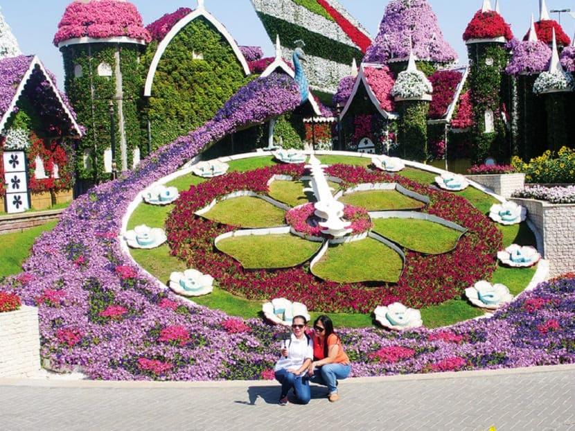 3D цветочные узоры