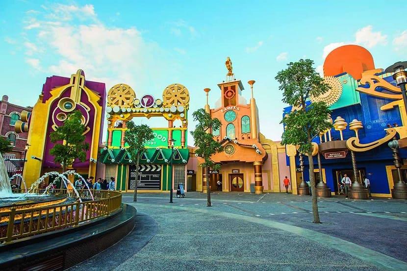 Парк Motiongate Dubai