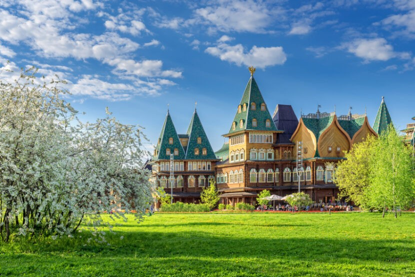 Живописные пейзажи Коломенского