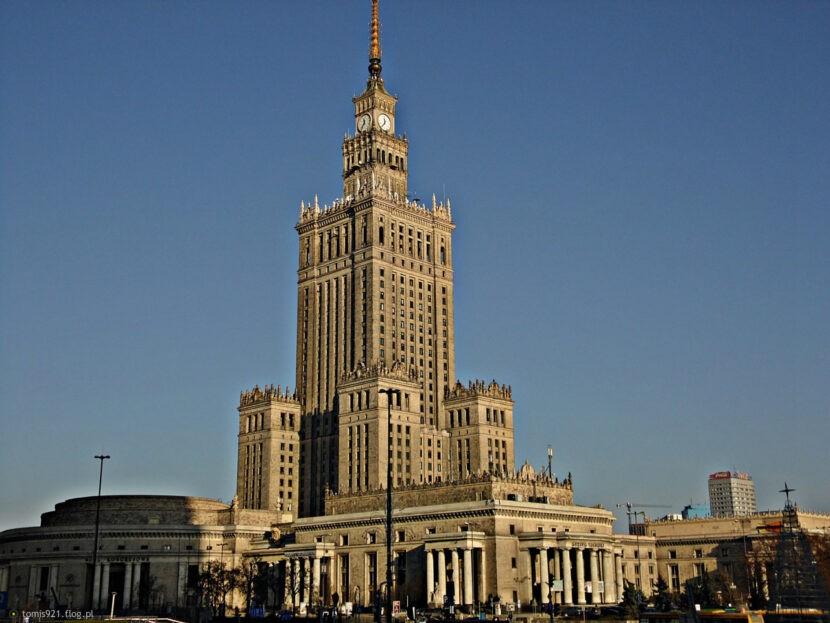 Варшава (Польша): Дворец культуры и науки