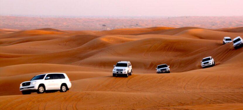 Захватывающее сафари по пустыне с ужином барбекю