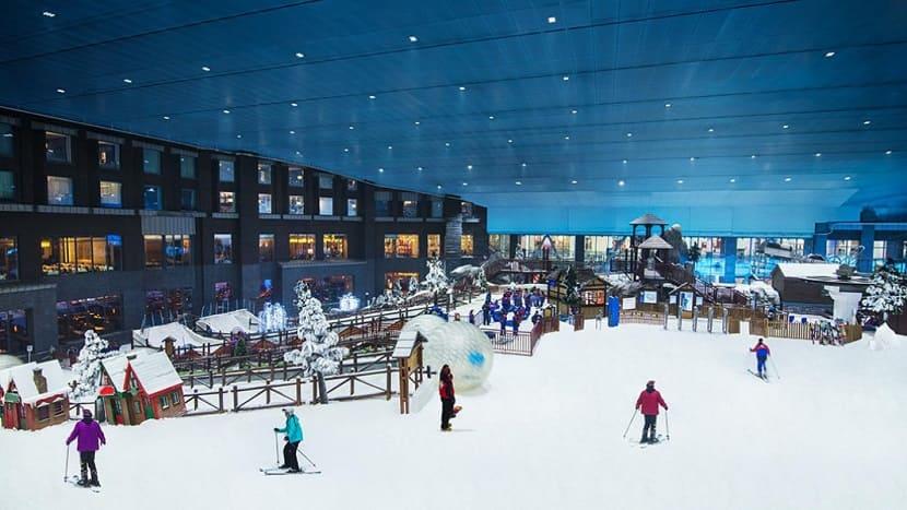 Горнолыжный курорт Ski Dubai (Mall of Emirates)