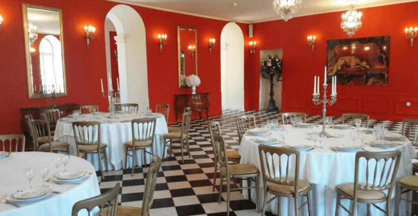 Ресторан в Екатерининском дворце