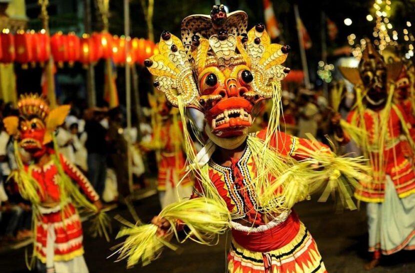 Фестиваль в Шри-Ланке