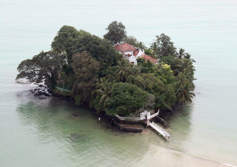 Тапробана, небольшой остров