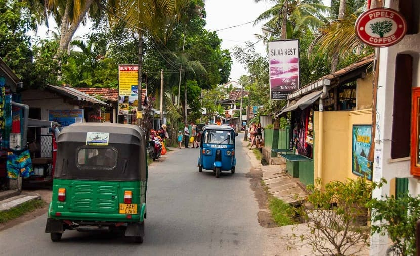 How to get to Sri Lanka auto