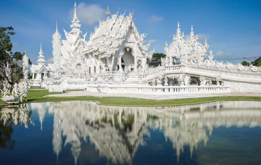 Ват Ронг Кхун - Храмовая Часть