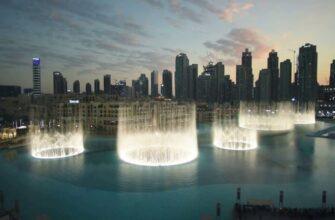 Дубайский фонтан - время работы, где находится, как добраться, фото