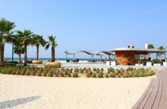 Пляж Кайт-Бич в Дубае - где находится, как добраться, фото