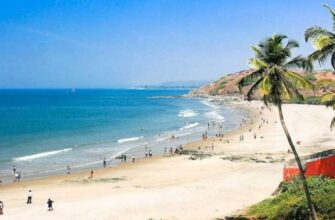 Пляж Кандолим на Гоа - как добраться, где поесть, что посмотреть, фото