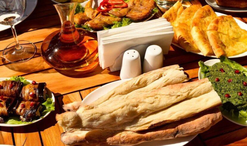 Еда и напитки в Грузии