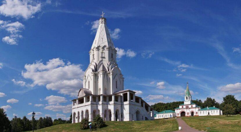 каменная церковь Вознесения Господня в Москве