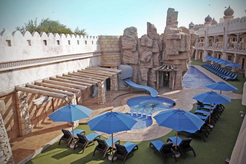 Emirates park zoo, зона отдыха