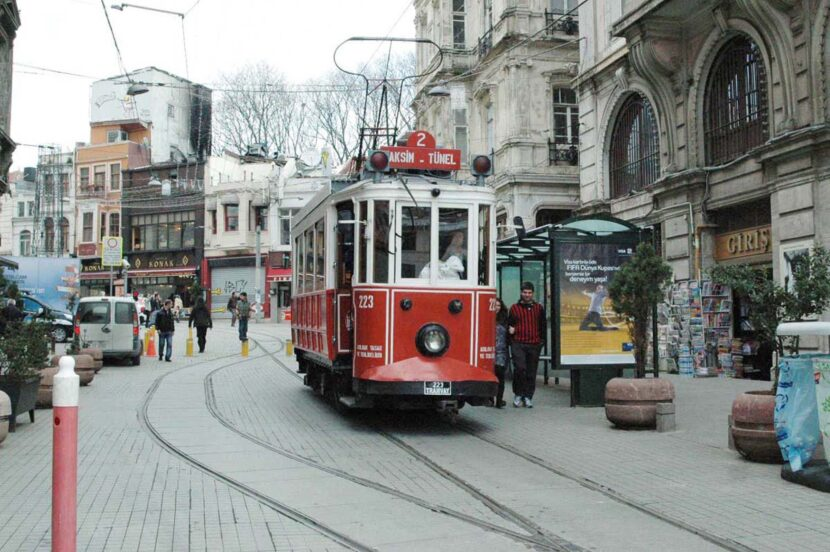 Стамбул, трамвай