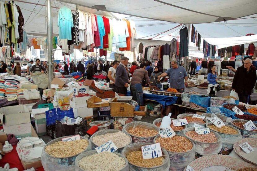 Кадыкей Городская Площадь Исторический Рынок Вторник