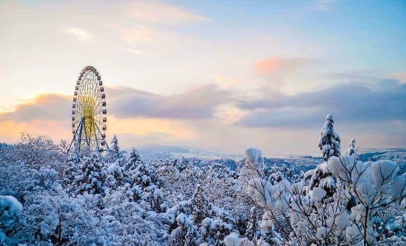 зима тбилиси