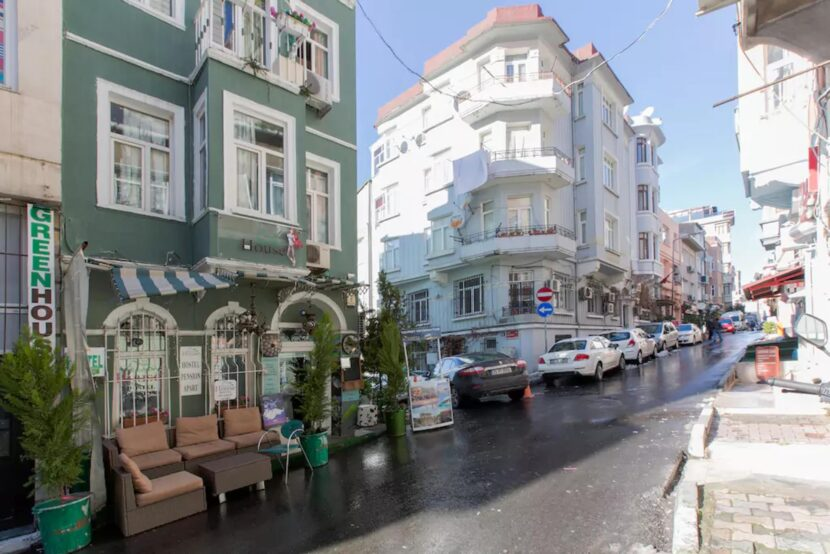 Улицы у площади Таксим