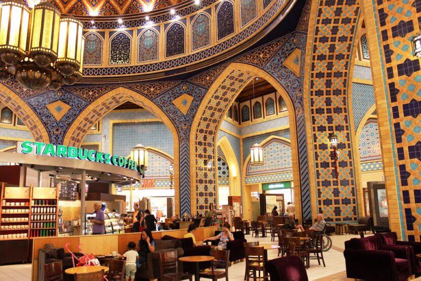 Торговый центр Ibn Battuta Mall в Дубае - где находится, описание