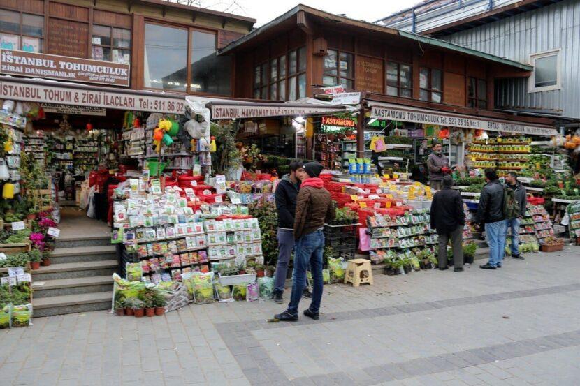 Стамбульский семенной и цветочный рынок