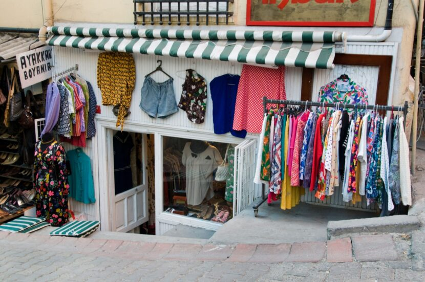 Магазин традиционной одежды Стамбула