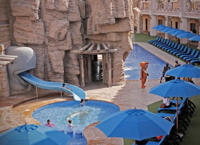 Зона для детей в Emerates park zoo