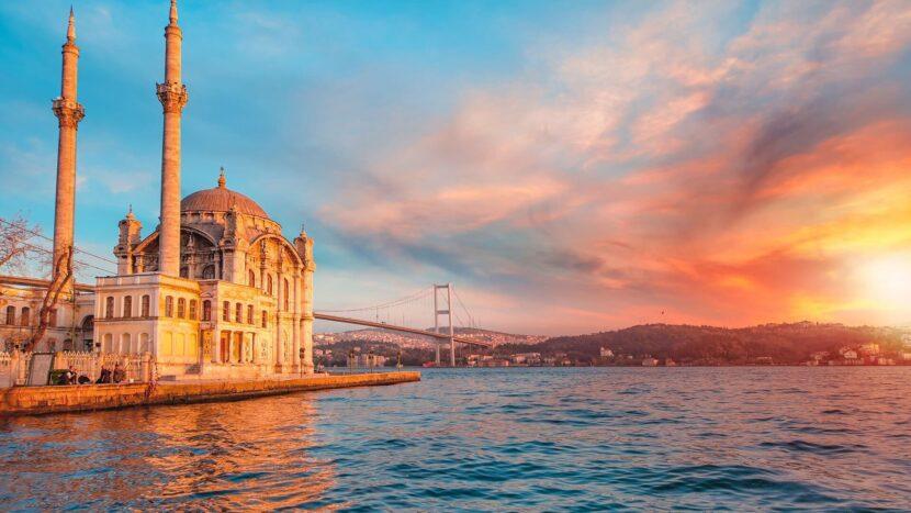 Стамбул, закат