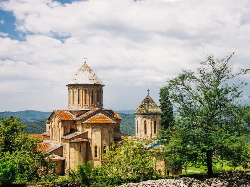 монастырь Моцамета снаружи