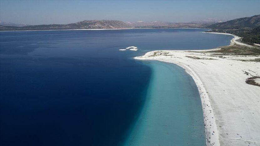 Озеро Сальда в Турции