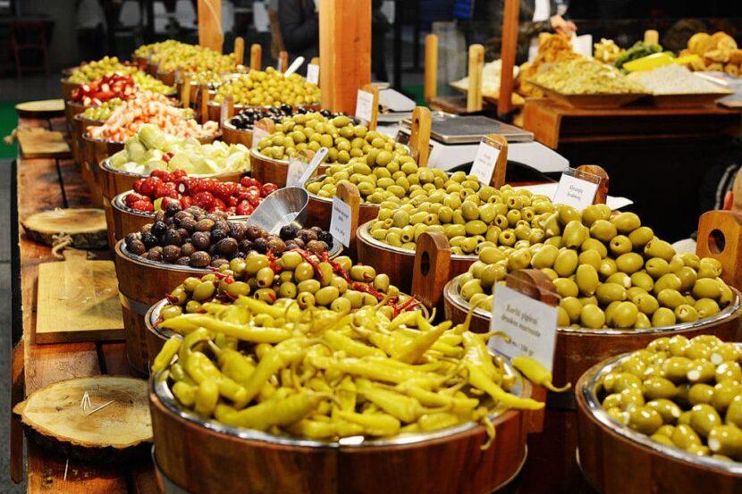 Еда на Выставке Dubai Expo 2020