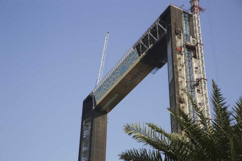 строительство Дубайской Рамки