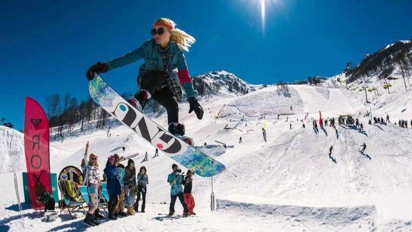зимние виды спорта в Белокурихе