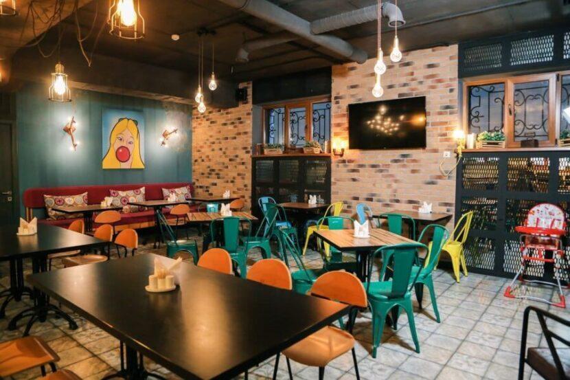 Ресторан в Абхазии