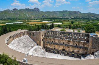 Древнейший город Аспендос