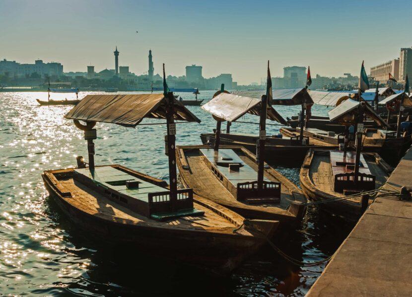 Лодки в Бур-Дубае