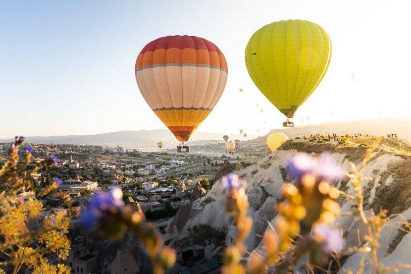 Воздушные шары в Каппадокии - стоимость, когда можно увидеть, сезон, фото