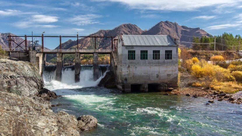 Чемальская гидроэлектростанция