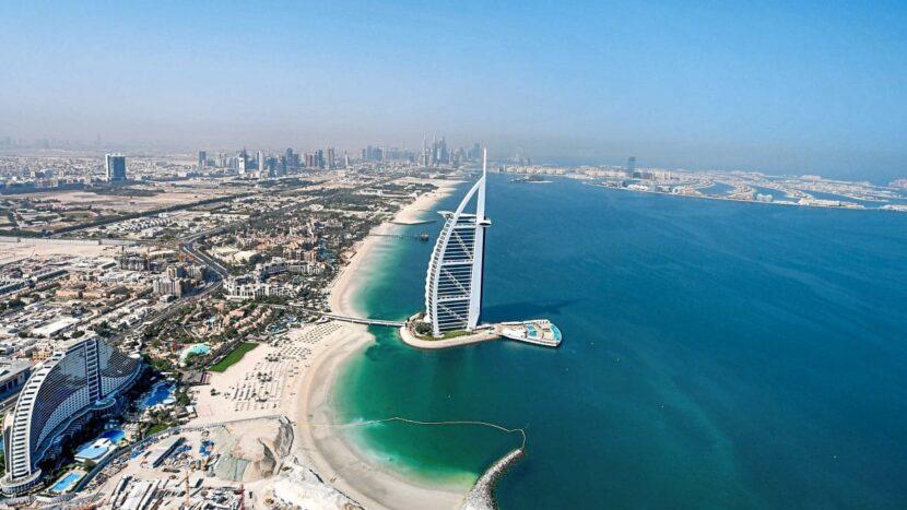Дубай, пляж
