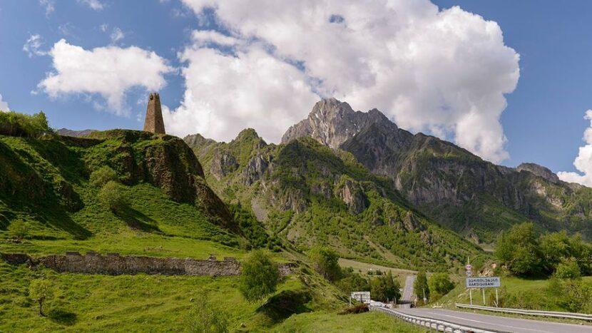 Дорога из Тбилиси в Казбеги