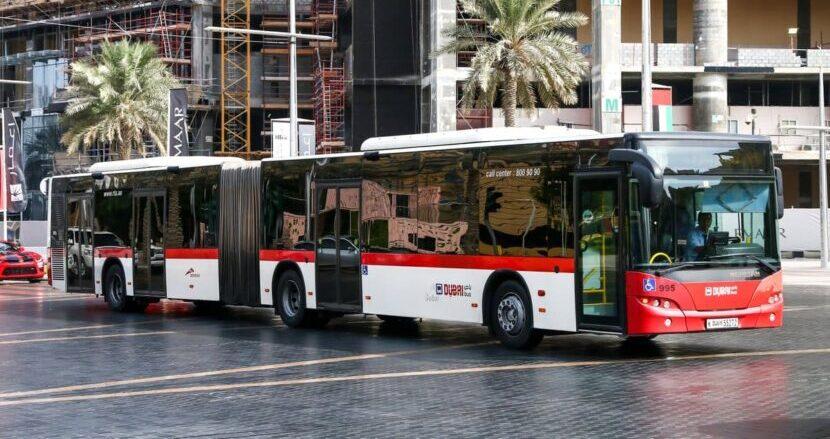 Дубай автобус