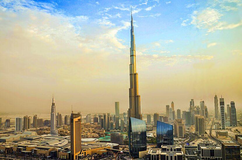 Самое высокое здание Burj Khalifa