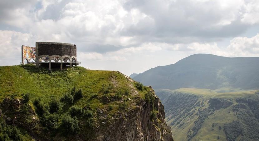 памятник российско-грузинской дружбы