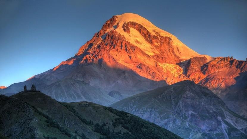 горы Казбеги