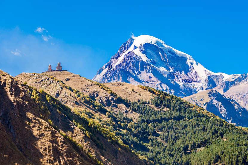 горы Казбек