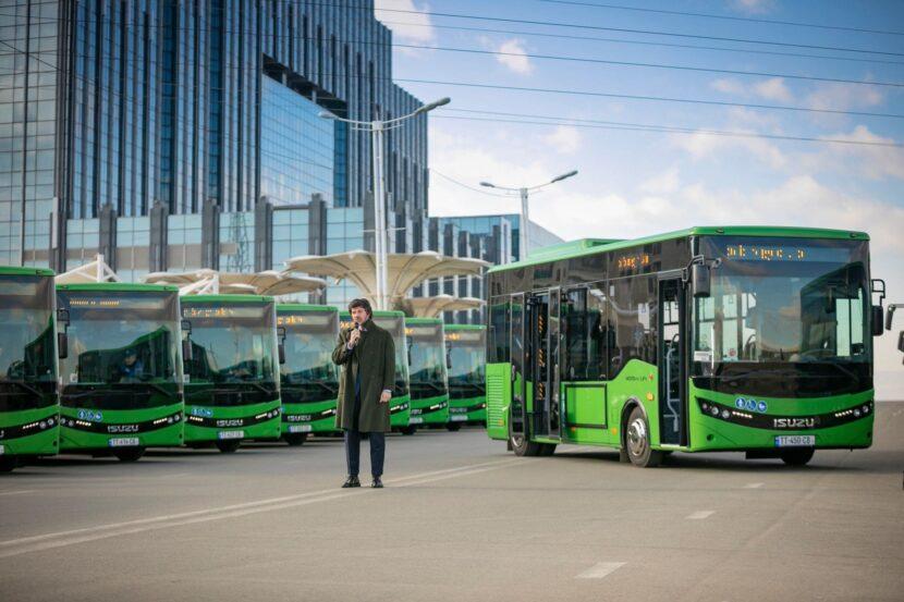 автобусы Грузии