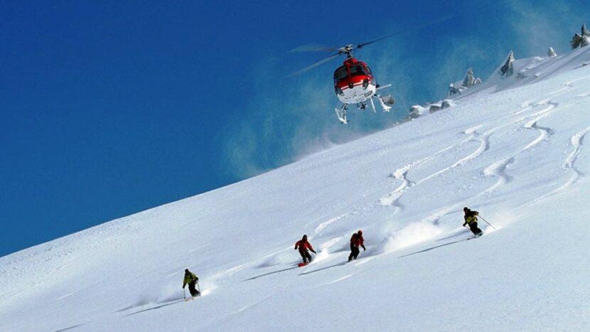 Хели-лыжи на Камчатке