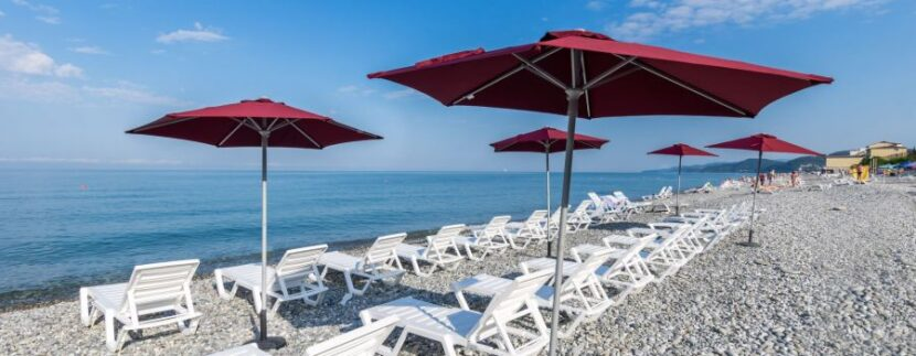 Пляж санатория «Аквалоо»