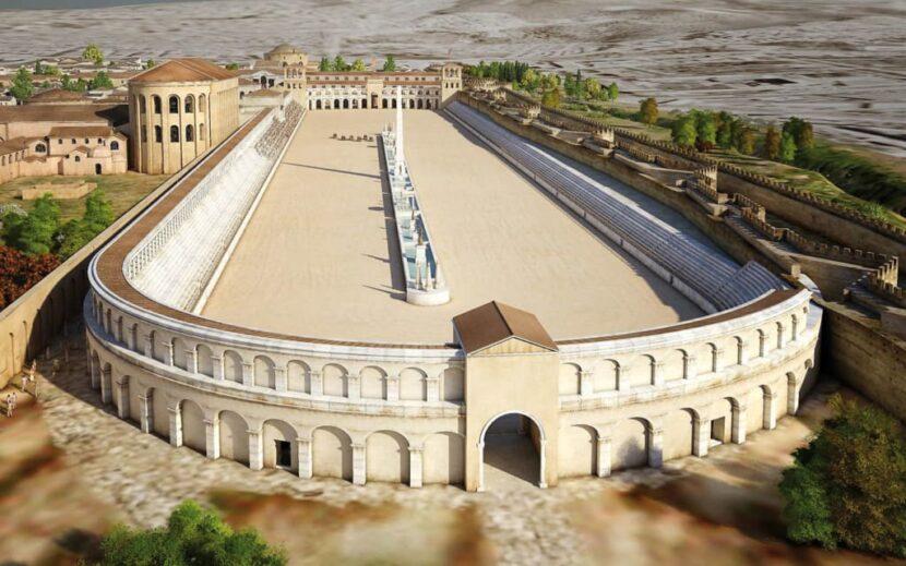 Ипподром Стамбул в древности